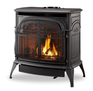 Vermont Castings Stardance Direct Vent Gas Stove Embers