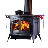 Vermont Castings Defiant FlexBurn Stove - Shown in Twilight
