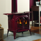 Vermont Castings Intrepid II Wood Burning Stove shown in Bordeaux