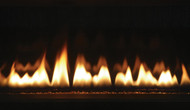 """Astria Sirius 42"""" Linear Direct-Vent Gas Fireplace - Contemporary"""