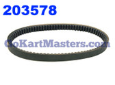 203578 Go Kart Torque Converter Belt