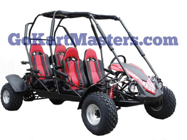 TrailMaster Blazer4 150 Go Kart - Red