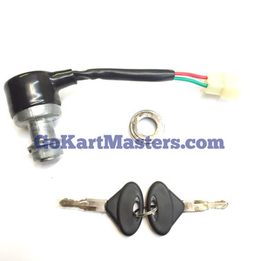 TrailMaster 150 Ignition Key Switch Fits All TM 150 Go Karts & UTV