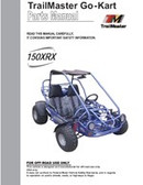 TrailMaster 150 XRX Go-Kart Parts Manual