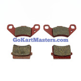 TrailMaster 150 XRS & 150 XRX Two Sets of Front Brake Pads