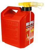 No Spill 2å_ Gallon CARB Gasoline Can