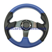 TrailMaster 150 XRX Sport Steering Wheel - Blue/Black