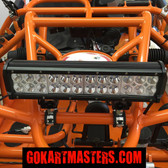 TrailMaster 150 XRS & 150 XRX Go-Kart Super Bright LED Lower Light Bar
