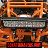 TrailMaster 150 XRS & 150 XRX Go-Kart Super Bright LED Lower Light Bar