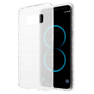 Turtle Shield Shockproof Crystal TPU Case for Samsung Galaxy S8 Plus - Clear