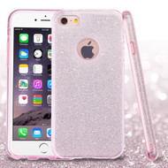 Full Glitter Hybrid Protective Case for iPhone 6 Plus / 6S Plus - Pink
