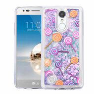 *SALE* Quicksand Glitter Transparent Case for LG Aristo / Fortune / K8 2017 / Phoenix 3 - Lollipop
