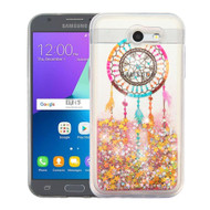 Quicksand Glitter Case for Samsung Galaxy J3 (2017) / J3 Emerge / J3 Prime / Amp Prime 2 / Sol 2 - Dreamcatcher