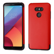 Slim Armor Multi-Layer Hybrid Case for LG G6 - Red