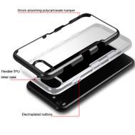 TUFF Panoview Transparent Hybrid Case for iPhone 8 Plus / 7 Plus - Gradient Black