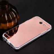 Premium Electroplated Skin Cover for Samsung Galaxy J3 (2017) / J3 Emerge / J3 Prime / Amp Prime 2 / Sol 2 - Rose Gold