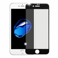 Premium Full Coverage 2.5D Tempered Glass Screen Protector for iPhone 8 / 7 - Black
