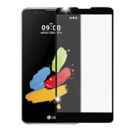 Premium Full Coverage 2.5D Tempered Glass Screen Protector for LG G Stylo 2 / Stylus 2 - Black