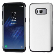 Slim Armor Multi-Layer Hybrid Case for Samsung Galaxy S8 Plus - Silver