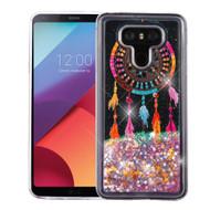 Quicksand Glitter Transparent Case for LG G6 - Dreamcatcher
