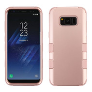 Military Grade Certified TUFF Hybrid Armor Case for Samsung Galaxy S8 - Rose Gold