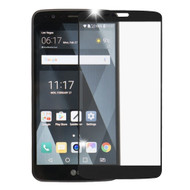 Premium Full Coverage 2.5D Tempered Glass Screen Protector for LG Stylo 3 - Black