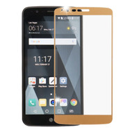 Premium Full Coverage 2.5D Tempered Glass Screen Protector for LG Stylo 3 - Gold