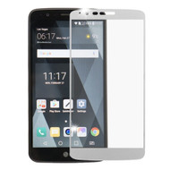 Premium Full Coverage 2.5D Tempered Glass Screen Protector for LG Stylo 3 - Silver