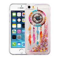 *SALE* Quicksand Glitter Transparent Case for iPhone SE / 5S / 5 - Dreamcatcher