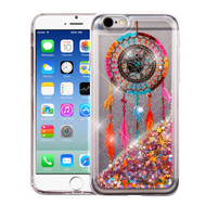 Quicksand Glitter Transparent Case for iPhone 6 / 6S - Dreamcatcher