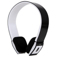 Bluetooth V3.0 Wireless Clip Headphones with Microphone - Black