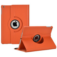 *SALE* 360 Degree Smart Rotary Leather Case for iPad (2017) / iPad Air - Orange
