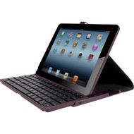 *SALE* Targus Versavu Bluetooth Wireless Keyboard Case for iPad (2017) / iPad Air - Black Cherry