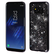 Luxury Bling Glitter Krystal Gel Case for Samsung Galaxy S8 Plus - Starry Sky Silver