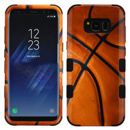 Military Grade Certified TUFF Image Hybrid Armor Case for Samsung Galaxy S8 - Basketball