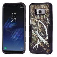 Military Grade Certified TUFF Image Hybrid Armor Case for Samsung Galaxy S8 - Tree Camouflage