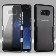 TUFF Panoview Transparent Hybrid Case for Samsung Galaxy S8 - Gradient Black
