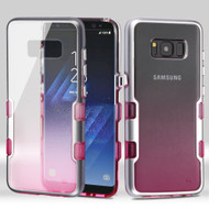 TUFF Panoview Transparent Hybrid Case for Samsung Galaxy S8 - Gradient Pink