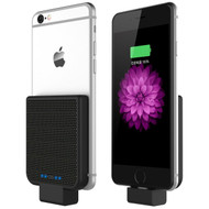 Back Clip Power Bank 2200mAh Battery for iPhone with Lightning Connector - Black