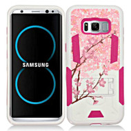 *Sale* Transformer Hybrid Armor Case with Stand for Samsung Galaxy S8 - Spring Flowers