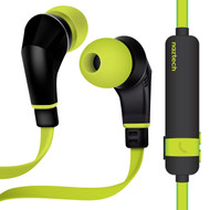 *Sale* Naztech NX80 Bluetooth V4.1 Wireless Sport Headphones with Microphone - Lime
