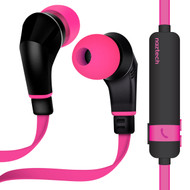 Naztech NX80 Bluetooth V4.1 Wireless Sport Headphones with Microphone - Hot Pink