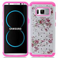 TotalDefense Diamond Hybrid Armor Case for Samsung Galaxy S8 - Roses