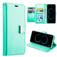 Essential Leather Wallet Stand Case for Samsung Galaxy S8 - Teal