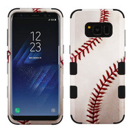 Military Grade Certified TUFF Image Hybrid Armor Case for Samsung Galaxy S8 Plus - Baseball