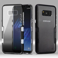 TUFF Panoview Transparent Hybrid Case for Samsung Galaxy S8 Plus - Gradient Black