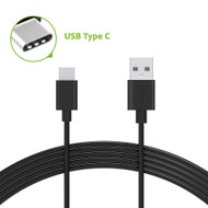 USB 3.1 Type-C (USB-C) to Type-A (USB-A) Charge and Sync Cable - Black