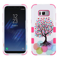 Military Grade Certified TUFF Image Hybrid Armor Case for Samsung Galaxy S8 - Love Tree