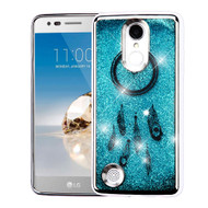 *SALE* Electroplating Quicksand Glitter Case for LG Aristo / Fortune / K8 (2017) / Phoenix 3 - Dreamcatcher Silver