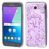 Krystal Gel Transparent Case for Samsung Galaxy J3 (2017) / J3 Emerge / J3 Prime / Amp Prime 2 / Sol 2 - Purple